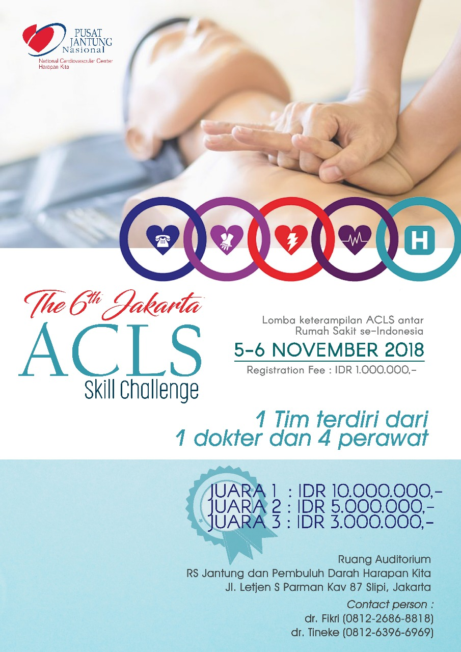 The 6th Jakarta ACLS Skill Challenge