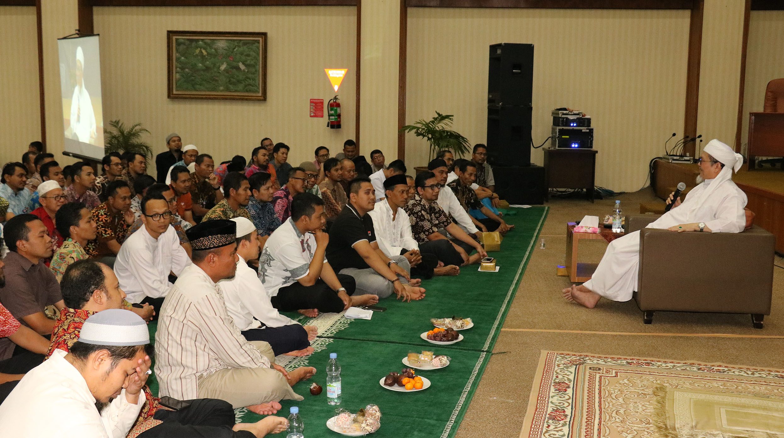 Rohis RSJPD Harapan Kita melaksanakan Peringatan Maulid Nabi Muhammad SAW