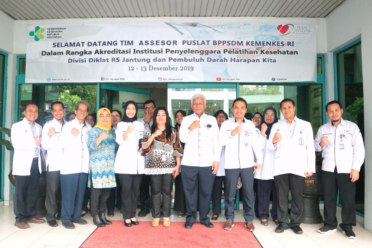 Survei Akreditasi Institusi Penyelenggara Pelatihan Kesehatan  Divisi Diklat  RSJPDHK