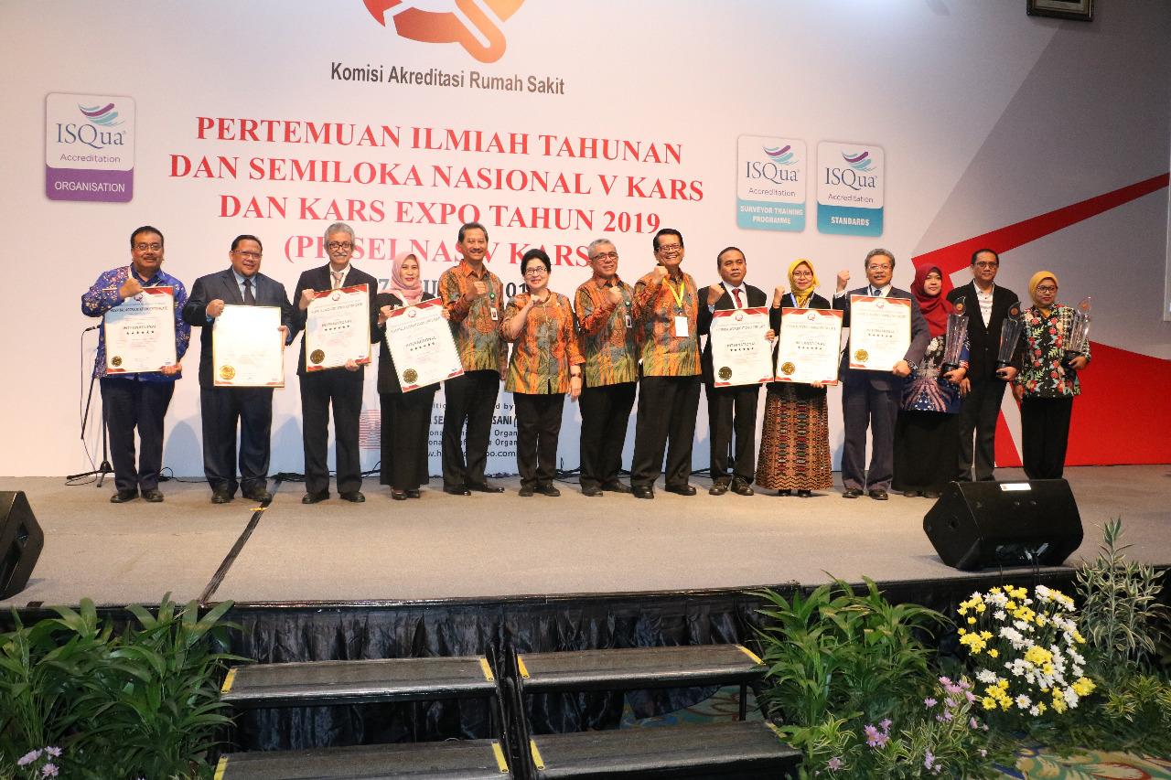 RSJPDHK Menjadi Satu Dari Delapan RS Se-Indonesia Yang Terakreditasi KARS Internasional