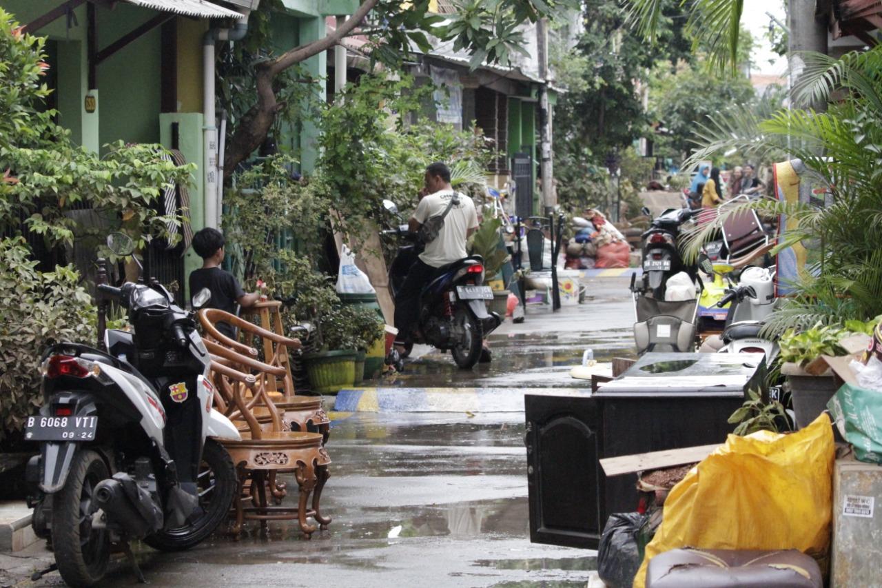 Bakti Sosial Kepada Pegawai Korban Banjir Jabodetabek Januari 2020